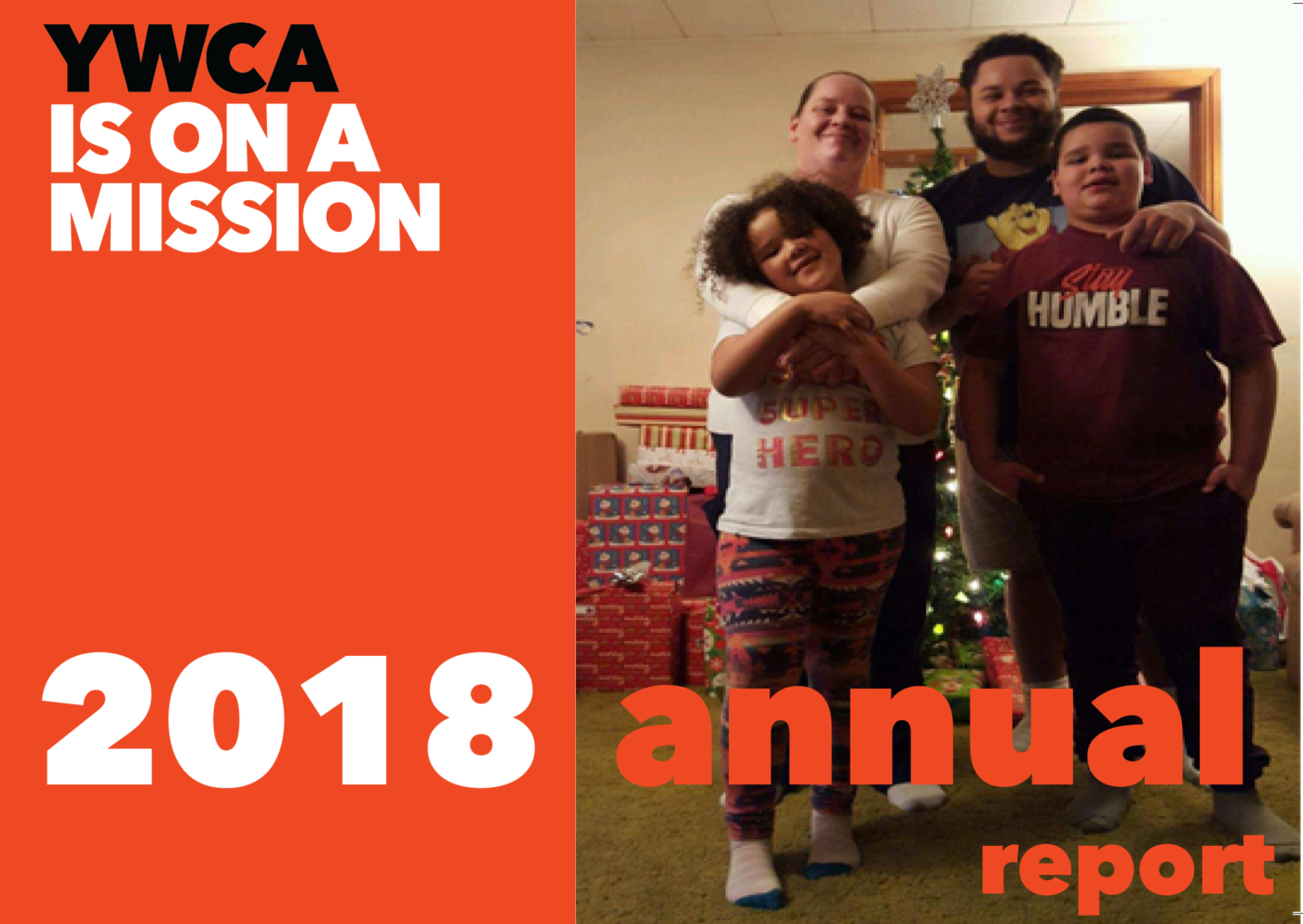 Front Cover of the YWCA Canton 2018 Annual Report
